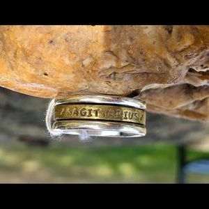 NEW! Zodiac Spinner Ring